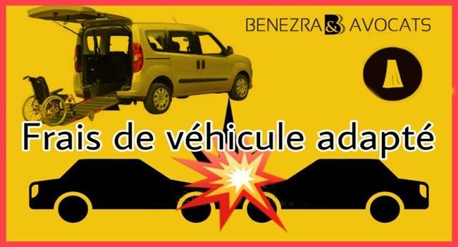 frais de véhicule adapté, adaptation de véhicule, camion handicape, adaptation camion fauteuil roulant, frais camion handicap, calcul frais de véhicule adapté