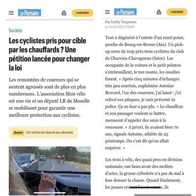 accident de cycliste, accident de vélo, homicide cycliste, tentative d'homicide cycliste, défense cycliste