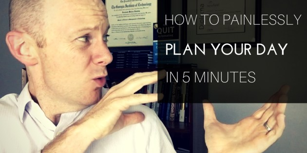 How to Schedule Your Day in 5 Minutes