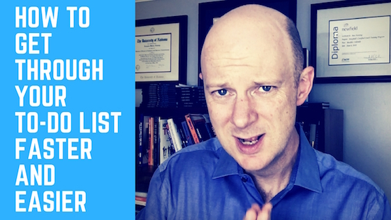 How to Get Through Your To-Do Checklist Faster and Easier