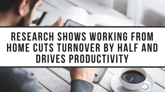To Cut Turnover, Allow Employees to Work from Home