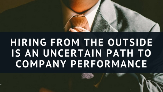 Three Classic Examples Show the Dangers of Hiring Externally - JC Penney, HP, and Russell Corp