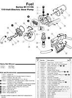 GPI M-1115S AC Gear Pump Parts : ARK Petroleum Equipment, Inc.