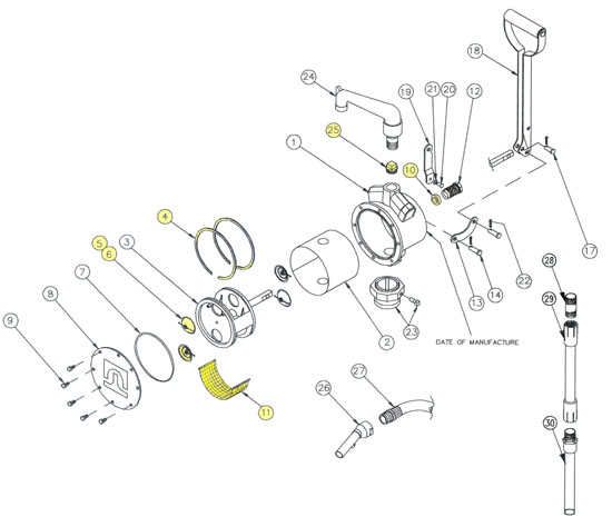 Fill Rite Fuel Pump Parts, Fill, Free Engine Image For