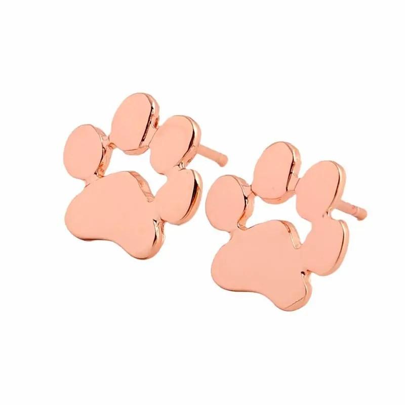 Cute Paw Print Stud Earrings