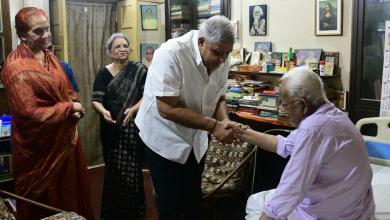 Photo of প্রাক্তন মুখ্যমন্ত্রী বুদ্ধদেবের সঙ্গে দেখা করলেন বর্তমান রাজ্যপাল
