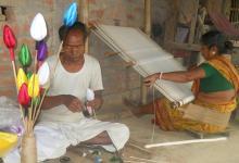 banana fiber, bengallive breaking news, handicrafts, itahar, rajbangshi couple, uttar dinajpur