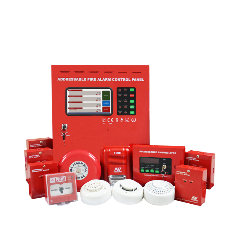 Addressable Fire Alarm System Diagrams The Wiring Diagram Of An