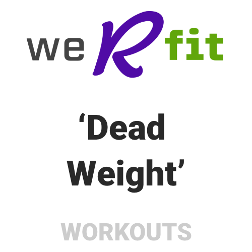 CrossFit Dead Weight Workout