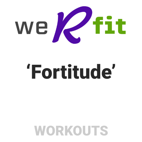 CrossFit Fortitude Workout