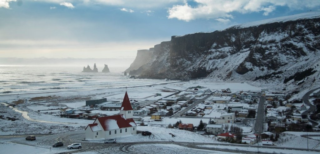 Annie Thorisdottir lived in Vík í Mýrdal, a small coastal town on the souther tip of Iceland until she was six
