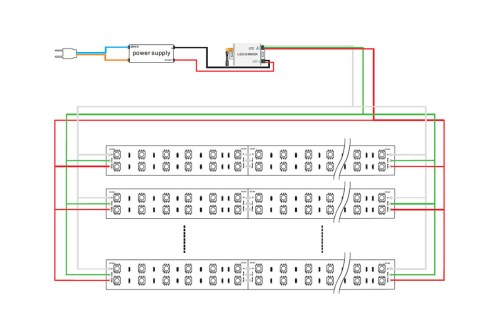 small resolution of images of led strip wiring diagram