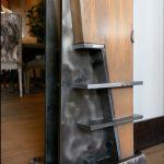 Custom steel post ancor