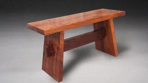 Custom Made Japanese Contemplation Bench