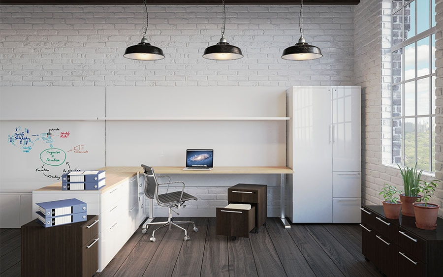 Private Office Furniture Systems in NYC  Benhar Office