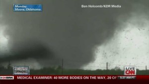 My interview with CNN about the Moore, Oklahoma EF-5 Tornado of May 20, 2013