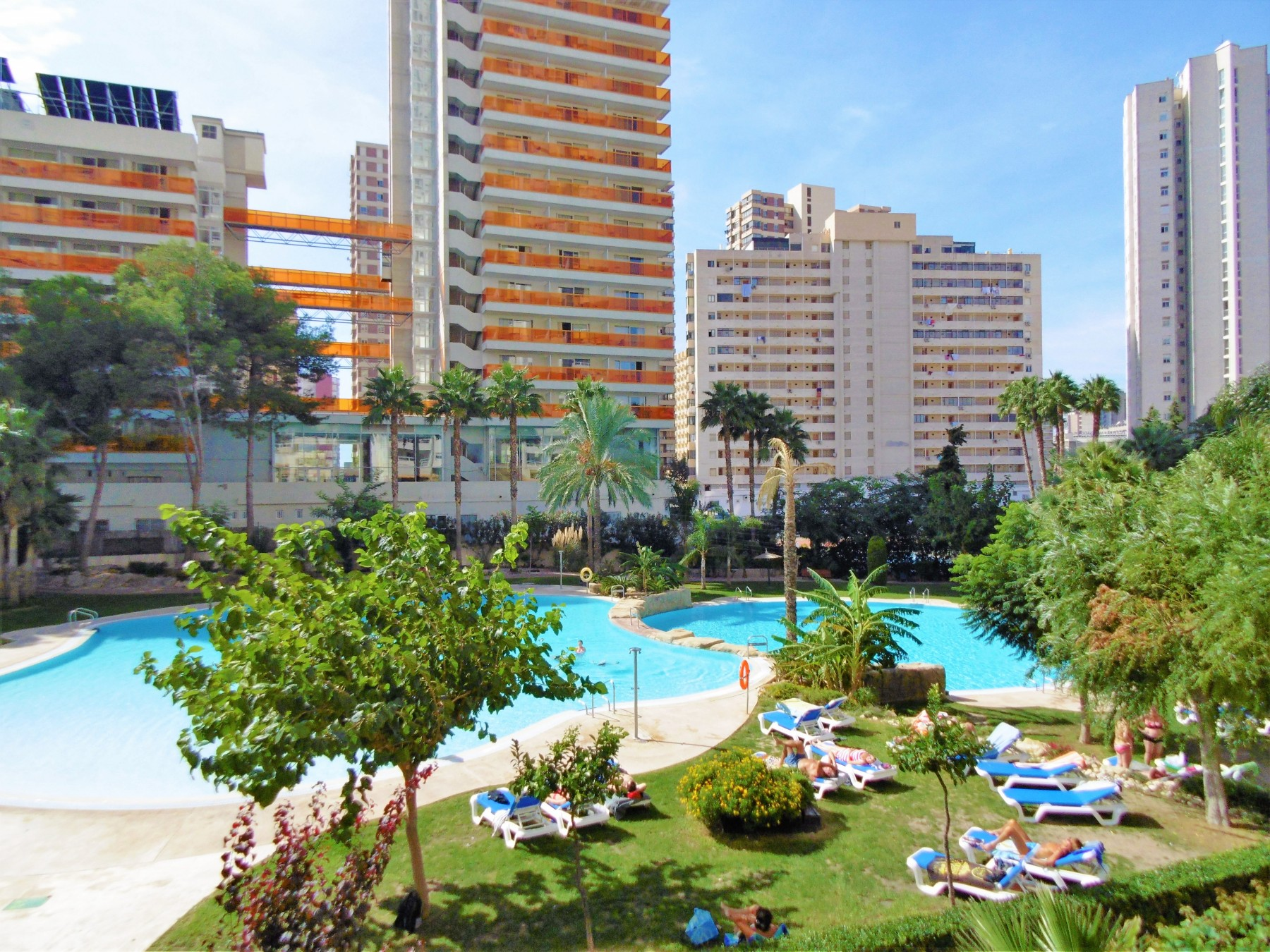 sofa at courts marshmallow flip open disney minnie s bow tique apartments in benidorm - gemelos 22 15b