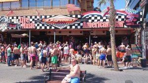 benidorm bars beach, Benidorm November fiesta