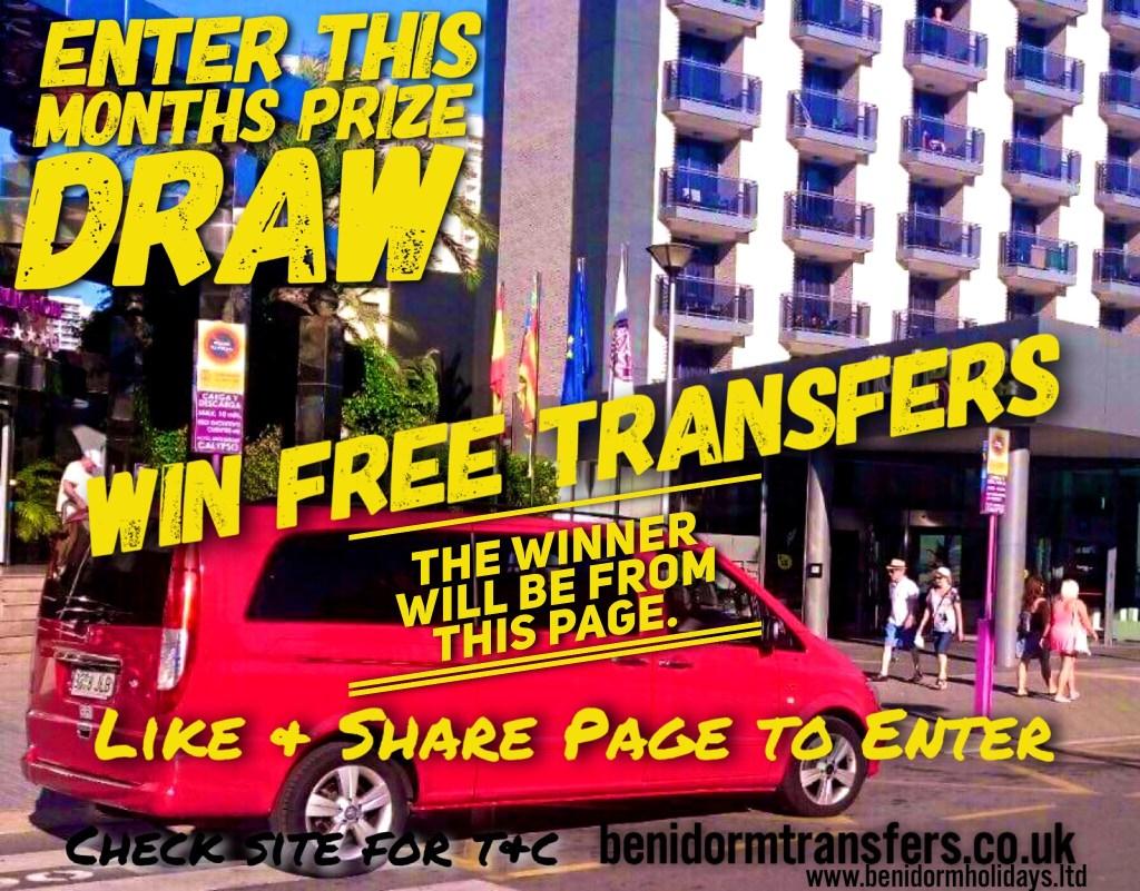 Free Benidorm Transfers