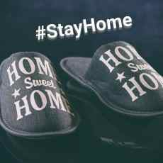 home sweet home slippers