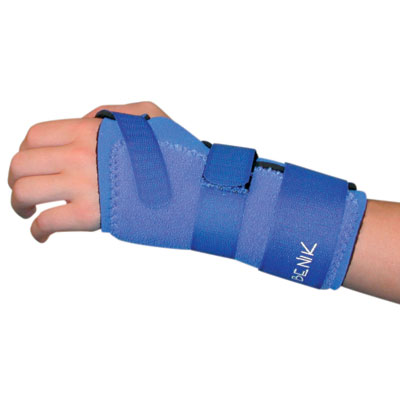 Pediatric Neoprene Wrist and Hand Splints and Gloves