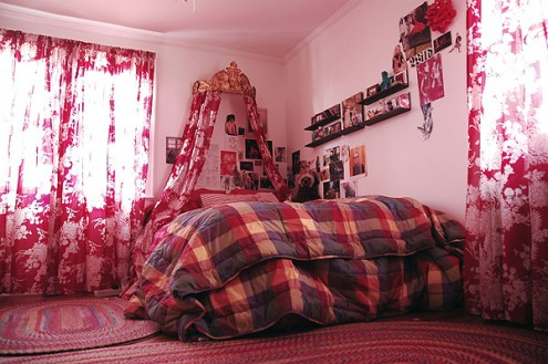 Interior design of teens room 13