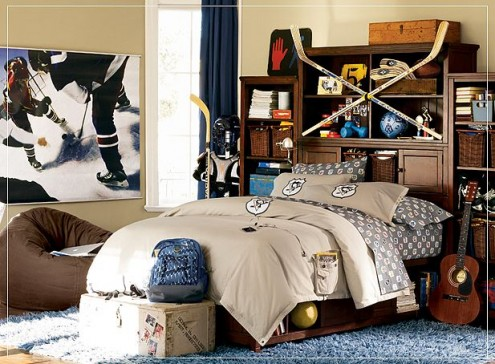 Interior design of teens room 6