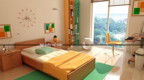 Interior design of teens room 4