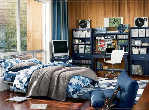 Interior design of teens room 19