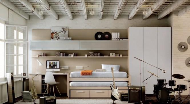 Interior design of teens room 27