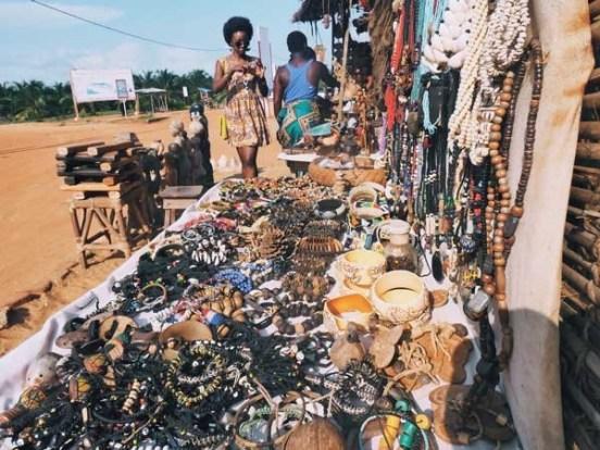 Cotonou craft market, tourist sites in cotonou