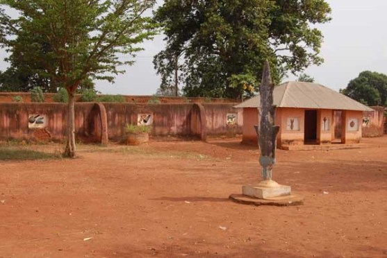 the Royal Palace of Abomey of benin republic