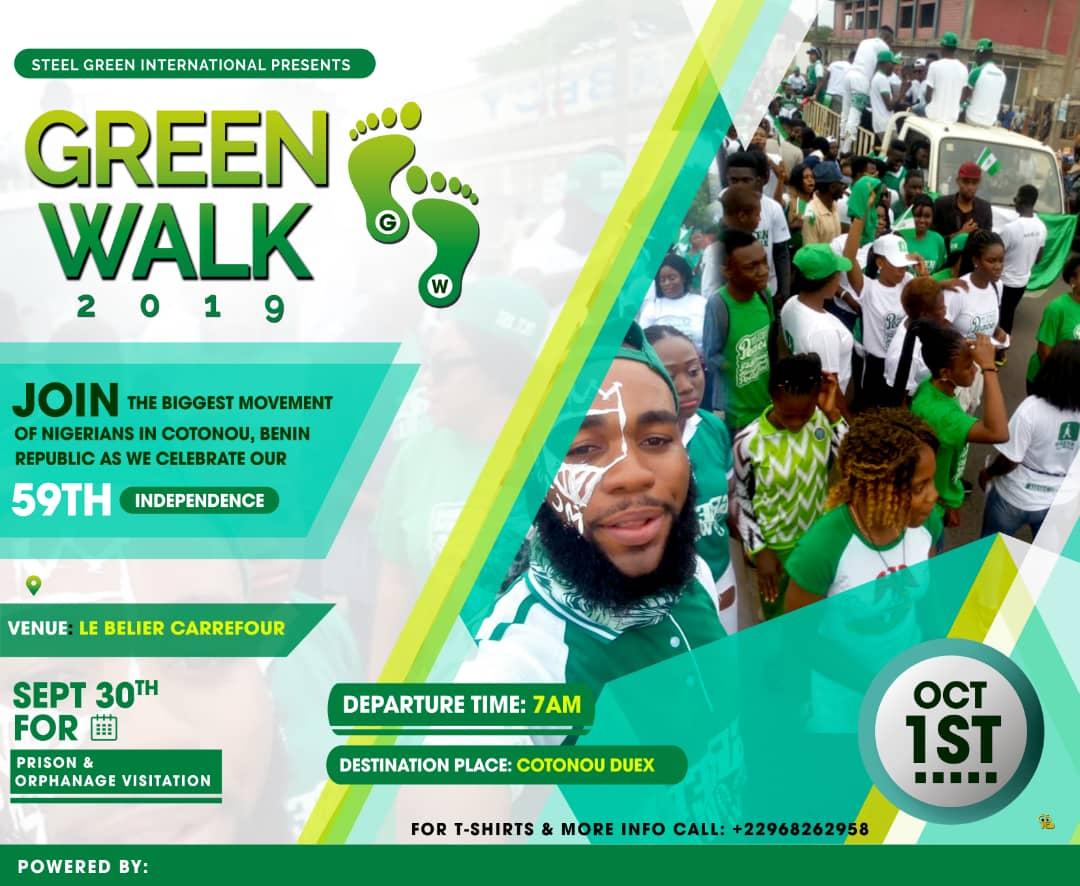 Green Walk 2019 Benin Republic