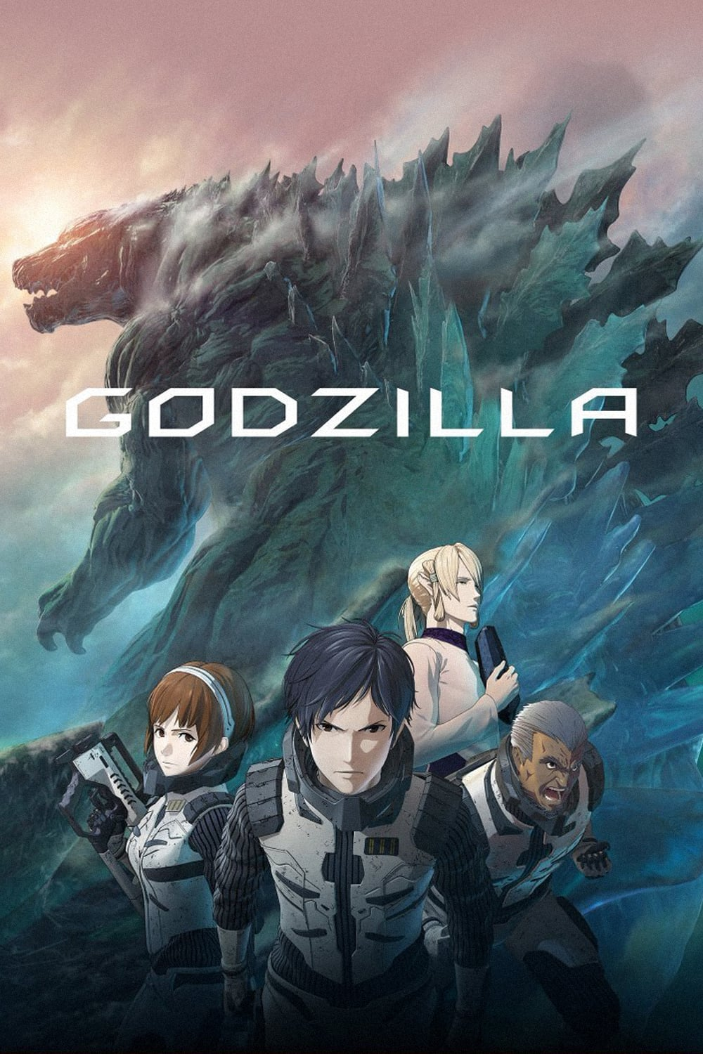 """Poster for the movie """"Godzilla: Planet of the Monsters"""""""