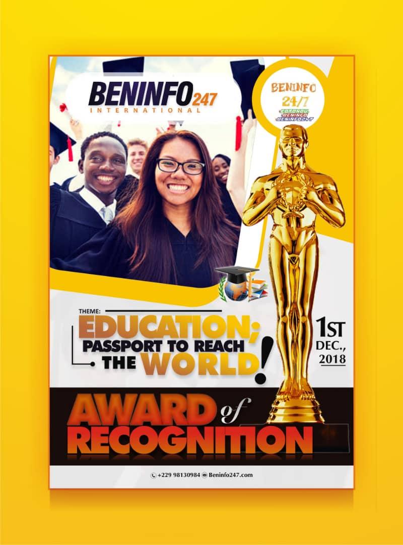 beninfo247 international award of recognition