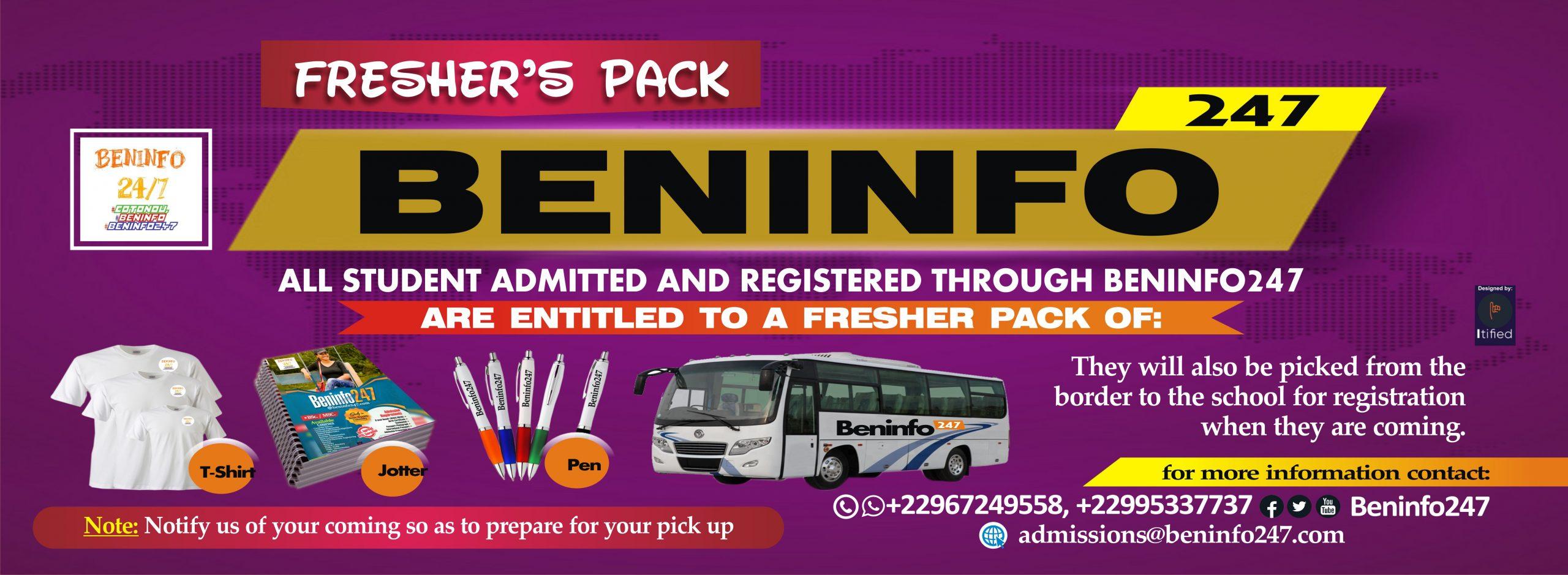Beninfo pack X3
