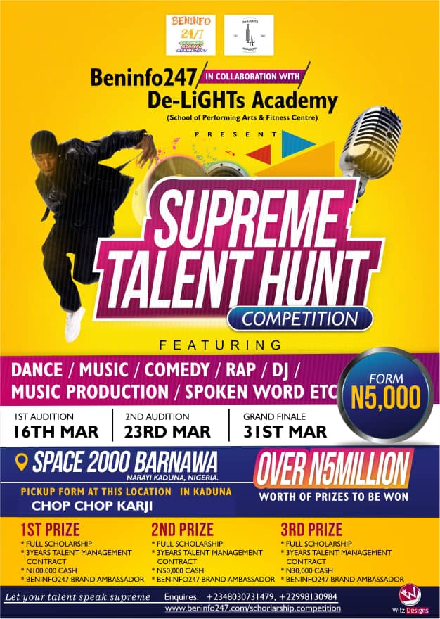 SUPREME TALENT HUNT