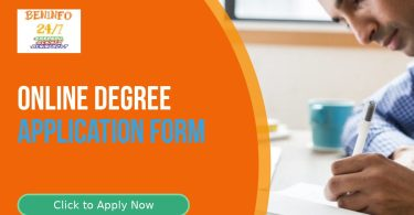 apply for online degree
