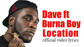 Burna boy Location