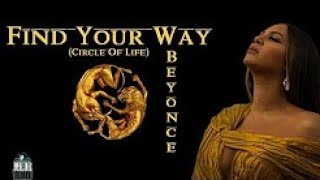 Beyonce find your way back