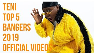 Teni's top 5 bangers for 2019