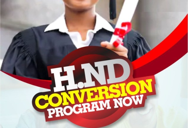 HND BSC CONVERSION PROGRAM IN BENIN REPUBLIC UNIVERSITY IN MANAGEMENT/ SCIENCE AND TECHNOLOGY COURSES