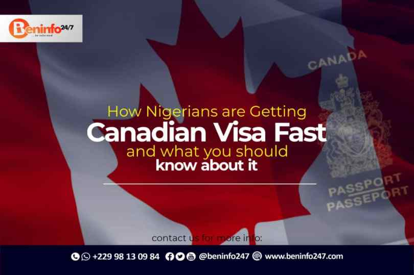 HOW NIGERIANS ARE GETTING CANADIAN VISA FAST
