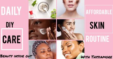 daily skin care routine/bio with