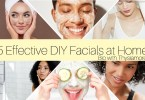 5 effective diy facials at home/bio with thysiamore