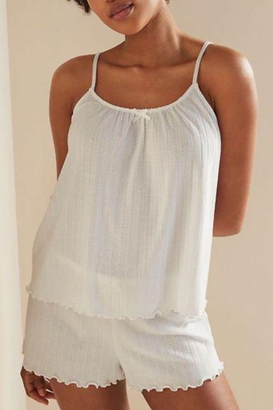 Silk, Satin and cotton pajamas