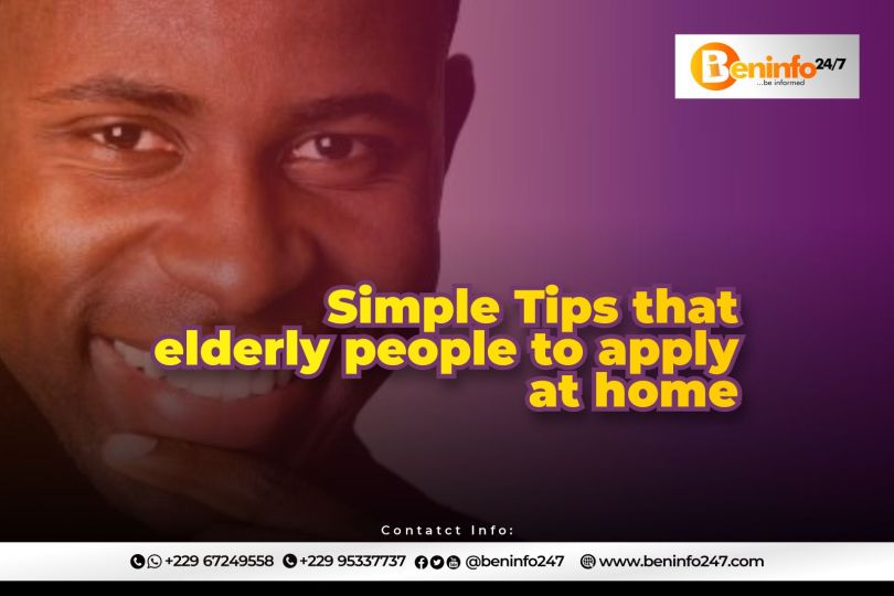 Simple healthy tips for elderly people to apply at home