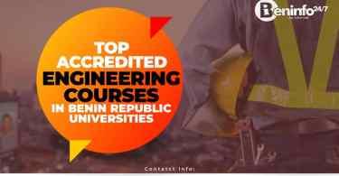 Engineering courses in Benin Republic University