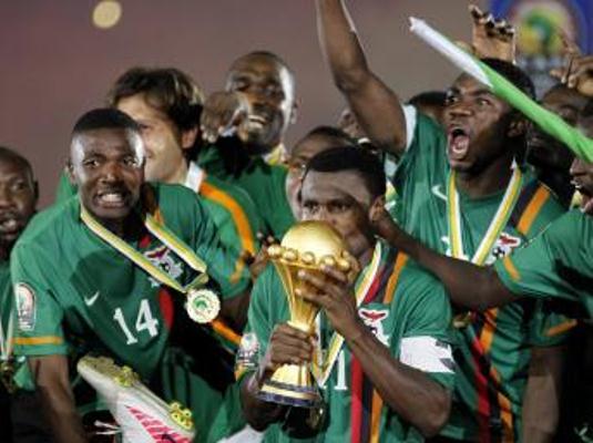 zambie champion d'afrique
