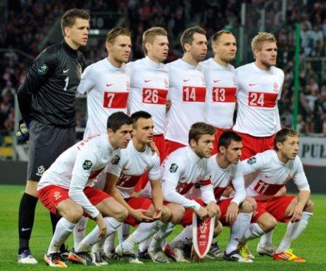 Liste Pologne euro 2012